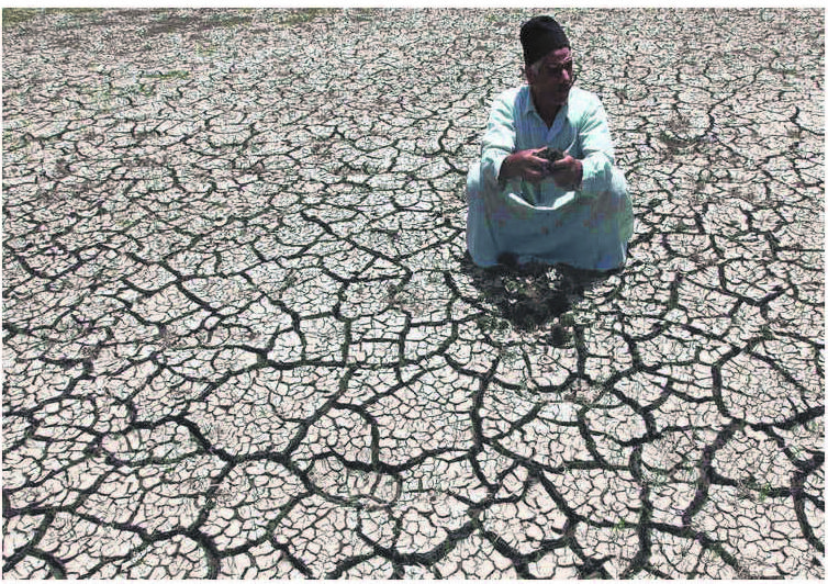 NOR ANY DROP TO DRINK Unless rapidly developing countries actively attempt to change the current development policies, they will face even bigger social, economic and environmental challenges and social disruptions in the coming decades. PHOTO: REUTERS