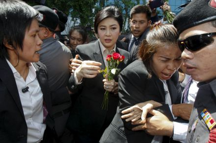 Although there were multiple events that led to the coup and removal of Yingluck, the rice pledging scheme is still the most threatening to her future political aspirations and freedom. PHOTO: REUTERS