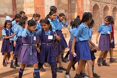 Image Credit: Delhi students via Don Mammoser / Shutterstock.com