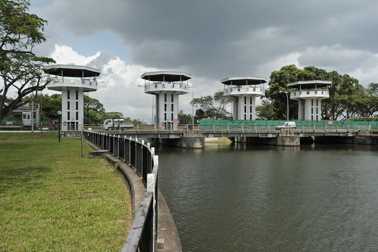 Kranji Water Reclamation Plant, one of five in Singapore designated to turn waste water into potable water, also known as Newater. Singapore aims to be self-sufficient in water by 2060, when water consumption will double from today's level. It will have to accommodate the demands of a growing domestic and non-domestic sector, mainly with Newater and desalinated water. ST FILE PHOTO