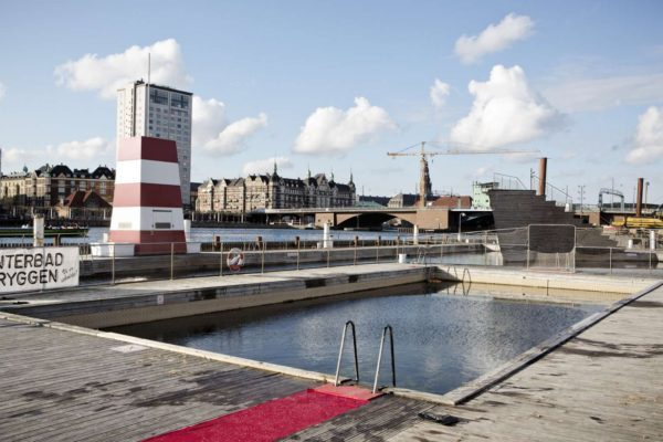 The Harbour Bath at Islands Brygge in Copenhagen allows residents to use their waterways for recreation. The water is so clean that they can swim in the city's harbour area. PHOTO: EUROPEAN PRESSPHOTO AGENCY