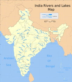 India's inter-state disputes on water usage have reached a critical point. Wikimedia, CC BY-ND