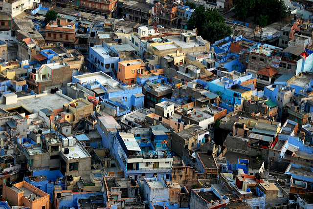 The blue city of Jodhpur. chispita_666