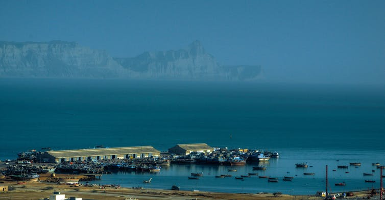 Gwadar, Pakistan. The heart of CPEC (China-Pakistan Economic Corridor), in 2016. umairadeeb/Flickr, CC BY-SA